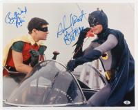 "Adam West & Burt Ward Signed ""Batman"" 16x20 Photo Inscribed ""Batman"" & ""Robin"" (Beckett COA)"