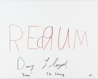"Danny Lloyd Signed ""The Shining"" 16x20 Canvas Inscribed ""Danny"", ""The Shining"" & ""Redrum"" (Beckett COA)"