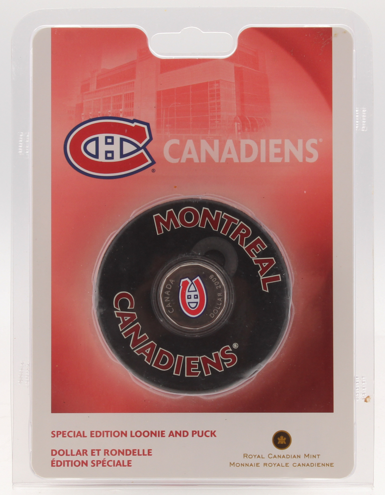 Montreal Candiens Special Edition Looine and Puck at PristineAuction.com