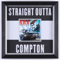 "Dr. Dre Signed ""Straight Outta Compton"" 12x12 Custom Framed Album Booklet (JSA LOA)"