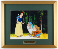"Walt Disney's ""Snow White and the Seven Dwarfs"" LE 16x19 Custom Framed Animation Serigraph Cel"