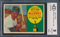 1960 Topps #316 Willie McCovey ASR RC (BCCG 9)