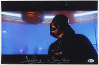"David Prowse Signed ""Star Wars: The Empire Strikes Back"" 10x15 Photo Inscribed ""Darth Vader"" (Beckett COA)"