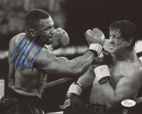 """Mike Tyson Signed """"Rocky Balboa"""" 8x10 Photo (JSA Hologram)"""