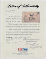 Tiger Woods & Bob May Signed 2000 PGA Valhalla Championship Pin Flag (PSA LOA) at PristineAuction.com
