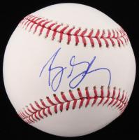 Bill Goldberg Signed OML Baseball (PSA COA)
