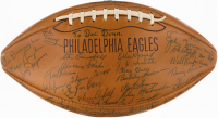 1961 Philadelphia Eagles Vintage Football Team-Signed by (35+) with Chuck Bednarik, Stan Campbell, Sonny Jurgensen, Clarence Peaks, J.D. Smith, Bobby Walston (JSA ALOA) at PristineAuction.com