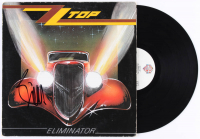 "Billy Gibbons Signed ZZ Top ""Eliminator"" Vinyl Record Album (JSA Hologram)"