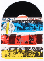 "Andy Summers Signed The Police ""Synchronicity"" Vinyl Record Album (JSA Hologram)"