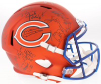 1985 Bears LE Full-Size Blaze Speed Helmet Team-Signed by (31) with Mike Ditka, Richard Dent, Jim McMahon & William Perry (Schwartz Sports COA)