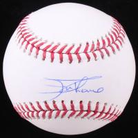 Jim Thome Signed OML Baseball (JSA COA)