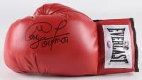 George Foreman Signed Everlast Boxing Glove (Schwartz COA & Foreman Hologram)