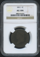 1812 1¢ Classic Head Large Cent (NGC AG 3 BN) at PristineAuction.com