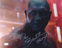 "Dave Bautista Signed ""Guardians of the Galaxy"" 11x14 Photo Inscribed ""Drax"" (JSA COA)"