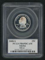 2008-S Alaska State Quarter (PCGS PR 69 DCAM)