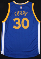 Stephen Curry Signed Warriors Jersey (JSA ALOA) at PristineAuction.com