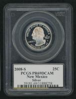 2008-S New Mexico State Quarter (PCGS PR 69 DCAM)