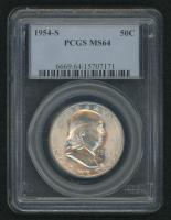 1954-D Franklin Silver Half-Dollar (PCGS MS 64)