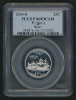 2000-S Virginia State Quarter (PCGS PR 69 DCAM)