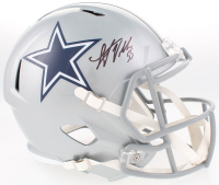 Leighton Vander Esch Signed Cowboys Full-Size Speed Helmet (JSA COA)