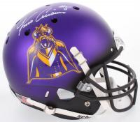 Kirk Cousins Signed Vikings Full-Size Helmet (Beckett COA)