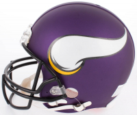 Dalvin Cook Signed Vikings Full-Size Authentic On-Field Helmet (JSA COA) at PristineAuction.com