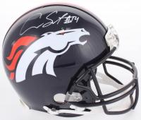 Courtland Sutton Signed Broncos Full-Size Authentic On-Field Helmet (JSA COA)