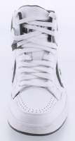 Larry Bird Signed Throwback Converse Basketball Shoe with Display Case (PSA COA) at PristineAuction.com