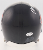 Mike Singletary Signed Bears Mini Helmet (Leaf COA) at PristineAuction.com