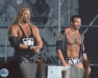 Kevin Nash & Scott Hall Signed WWE 8x10 Photo (Pro Player Hologram)