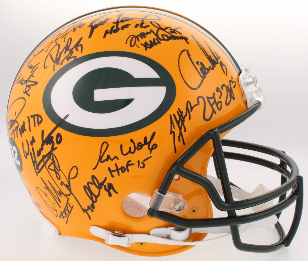 7fe8a41fe LE Super Bowl XXXI Champions Packers Full-Size Authentic On-Field Helmet  Team-