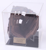 """Nolan Ryan Signed Rawlings Glove Inscribed """"100.9 MPH"""" with Display Case (PSA COA)"""