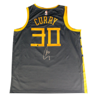 "Stephen Curry Signed Warriors ""The Bay"" Nike Jersey (Steiner COA) at PristineAuction.com"
