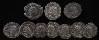 Lot of (10) Roman Antoniniani Ancient Coins