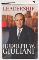 "Rudy Giuliani Signed ""Leadership"" Hardcover Book (JSA COA)"