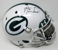 "Aaron Rodgers Signed Packers LE Custom Hydro Dipped White Full-Size Authentic On-Field Helmet Inscribed ""XLV Champs"" (Steiner COA)"