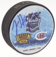 Jimmy Hayes Signed 2016 Winter Classic Hockey Puck (Your Sports Memorabilia Store COA)