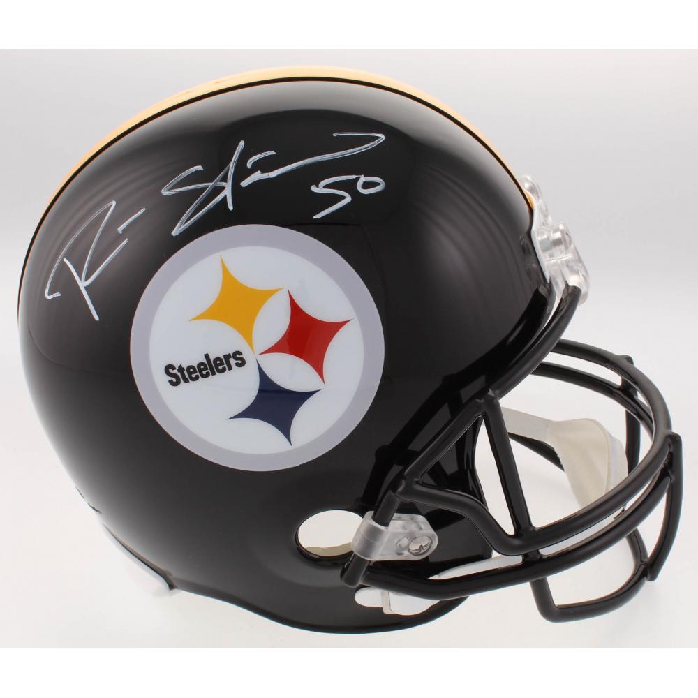 6c8b2de1f Ryan Shazier Signed Steelers Full-Size Helmet (TSE COA)