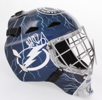 Andrei Vasilevskiy Signed Lightning Full-Size Hockey Mask (JSA COA)