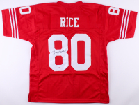 Jerry Rice Signed 49ers Jersey (PSA COA) at PristineAuction.com