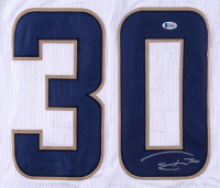 Todd Gurley Signed Rams Jersey (Beckett COA) at PristineAuction.com