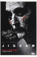 """Tobin Bell Signed """"Saw"""" 11x17 Photo Inscribed """"JigSaw"""" & """"8/17/18"""" (PSA Hologram) at PristineAuction.com"""