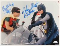 "Adam West & Burt Ward Signed ""Batman"" 11x14 Photo Inscribed ""Batman"" & ""Robin"" (JSA COA)"