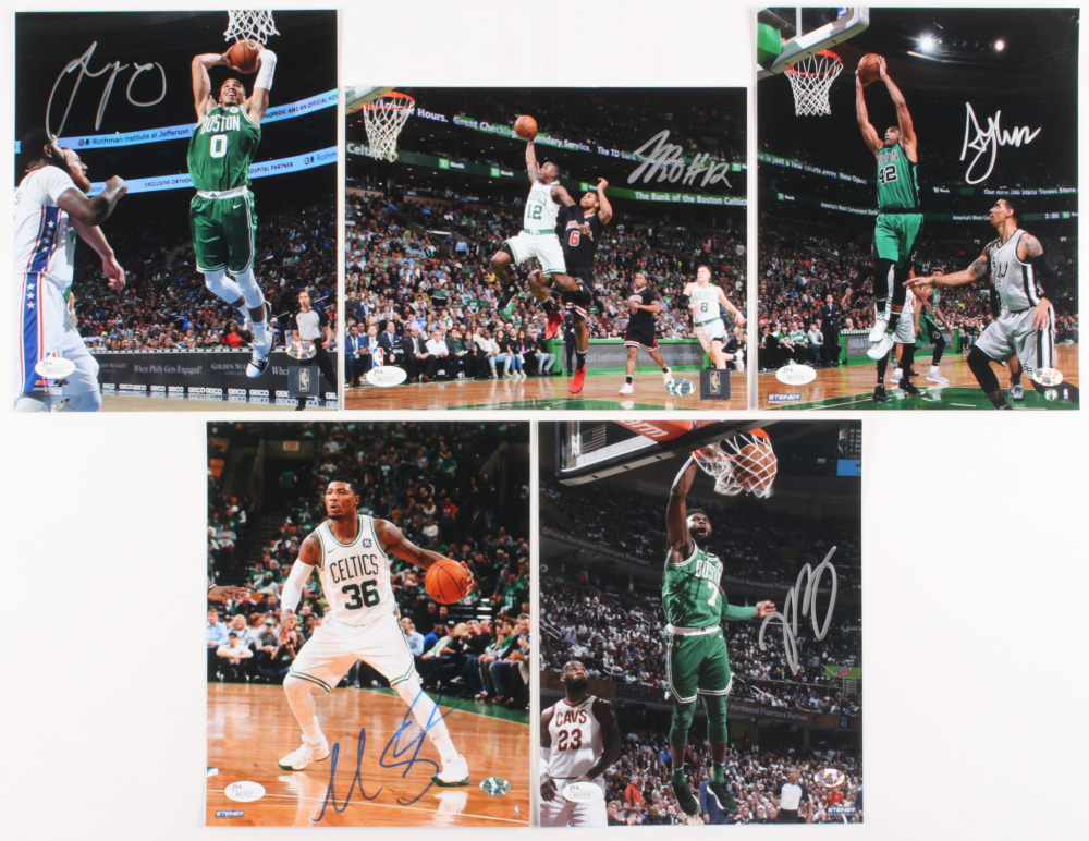 Lot of (5) Celtics 8x10 Signed Photos with Terry Rozier d0a52f9f4