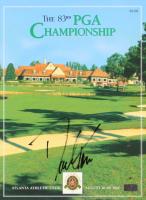 David Toms Signed 2001 The 83rd PGA Championship Program (Palm Beach COA)