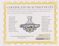 "2011 Bruins ""Stanley Cup Champions"" 27.5x29.5 Custom Framed Photo Display Team-Signed by (22) with Zdeno Chara, Mark Recchi, Tyler Seguin, Gregory Campbell (JSA Hologram & (13) Player Holograms) at PristineAuction.com"