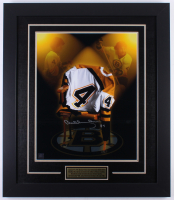Bobby Orr Signed Bruins 25.5x29.5 Custom Framed Photo Display (Great North Road COA)