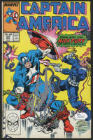 "Stan Lee Signed 1989 ""Captain America"" Issue #351 Marvel Comic Book (JSA COA & Lee Hologram)"