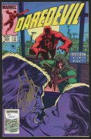 "Stan Lee Signed 1984 ""Daredevil"" Issue #204 Marvel Comic Book (JSA COA & Lee Hologram)"