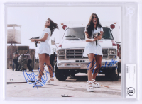 "Electra Avellan & Elise Avellan Signed ""Machete"" 8x10 Photo (Beckett Encapsulated)"